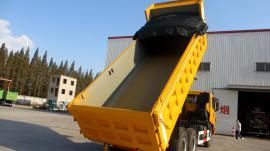 厂家生产供应 环保自卸车加盖 自卸车加盖系列