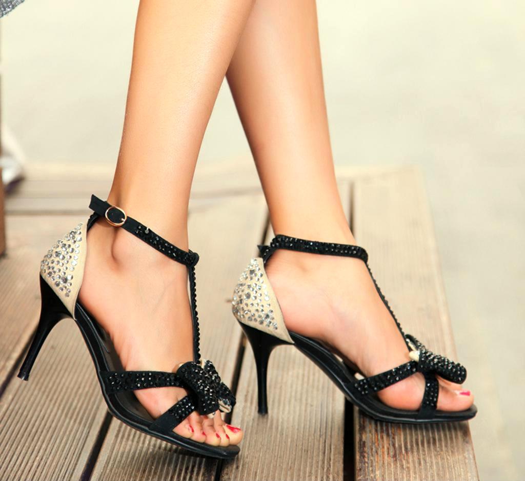 2013年时尚女凉鞋 水钻凉鞋 高跟凉鞋 鱼嘴凉鞋