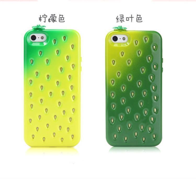 韩国新款苹果硅胶5手机壳小a苹果皮带iphone4s保护套潮穿草莓手机套图片