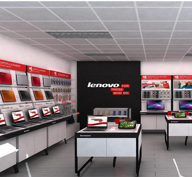 【爆款】优质联想电脑展示柜高级展柜联想地标店展柜数码展3