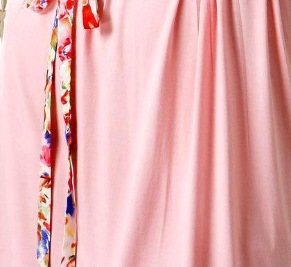 睡裙短袖 春夏季全新款休闲女式纯棉连衣裙睡裙圆领套头一件代发