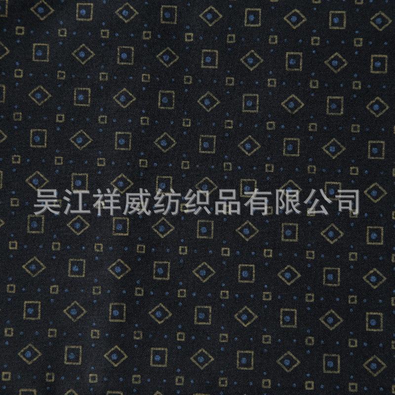 厂家直销休闲裤口袋布料 祥威纺织可定制涤纶面料交织棉品质保证