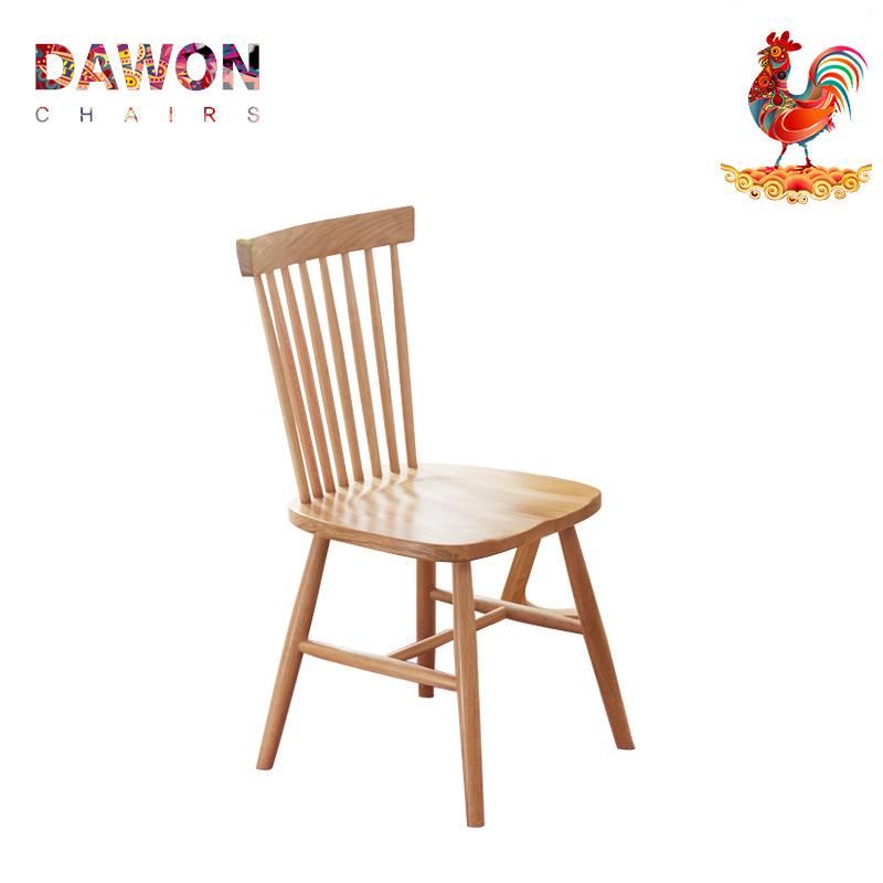 特价北欧简欧现代美式欧式新中式实木餐椅温莎椅设计师简约休闲椅图片