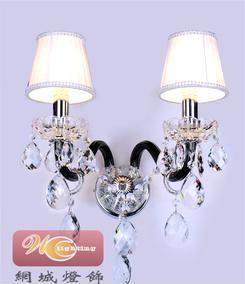 网城灯饰 蜡烛水晶壁灯家居壁灯欧式畅销壁灯民族风格壁灯2