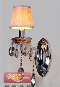 网城灯饰 蜡烛水晶壁灯家居壁灯欧式畅销壁灯民族风格壁灯8