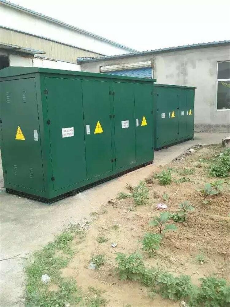 山东常年加工定制欧式箱式变电站 低价直销高质量欧式箱式变电站图片