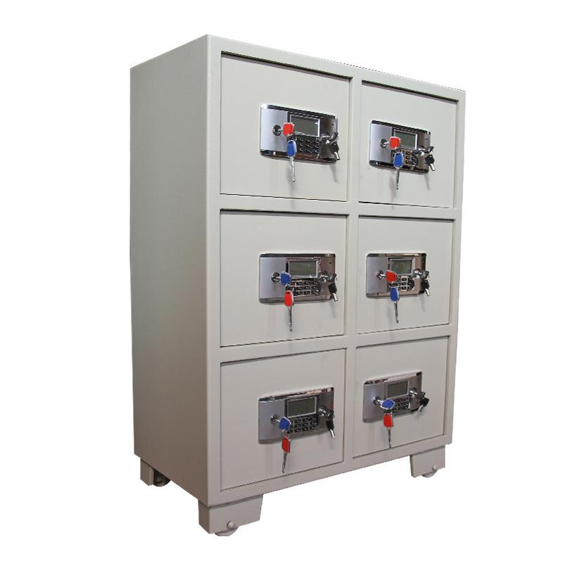 电子保管箱定做对开门保险柜学校保险箱办公定做档案室保密柜
