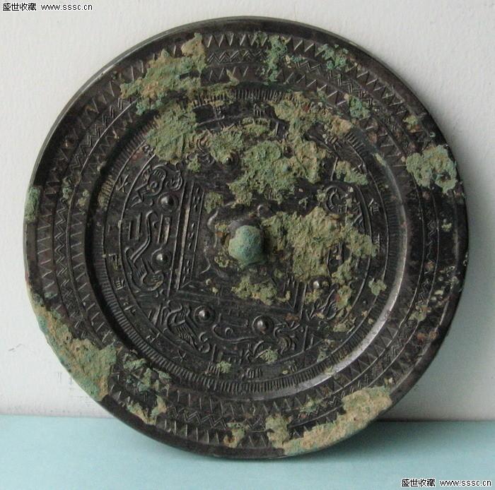 青铜器鉴定评估 汉代青铜镜价格