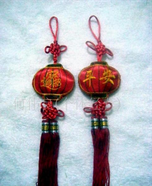 吉祥福灯笼中国结香包图片