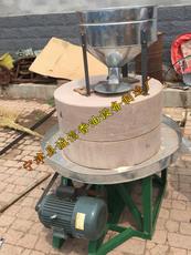 德州专业生产电动石磨机械小磨香油加工设备香油麻酱机械电动石磨