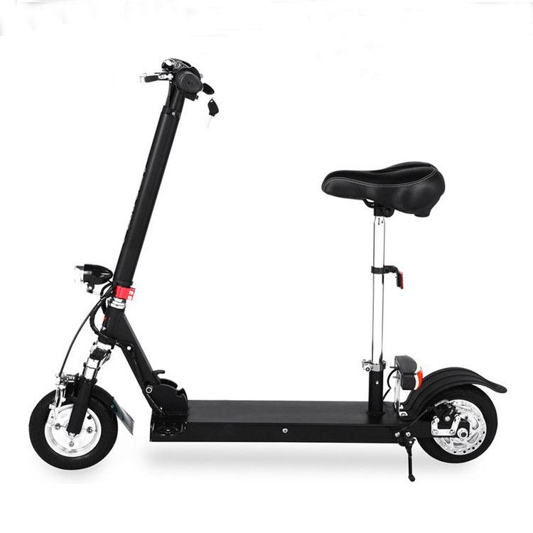 工厂直销8寸10寸电动成人思维车滑板车新一代代步工具车带座椅