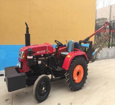 农业耕田拖拉机开沟机 挖沟钻眼多功能机
