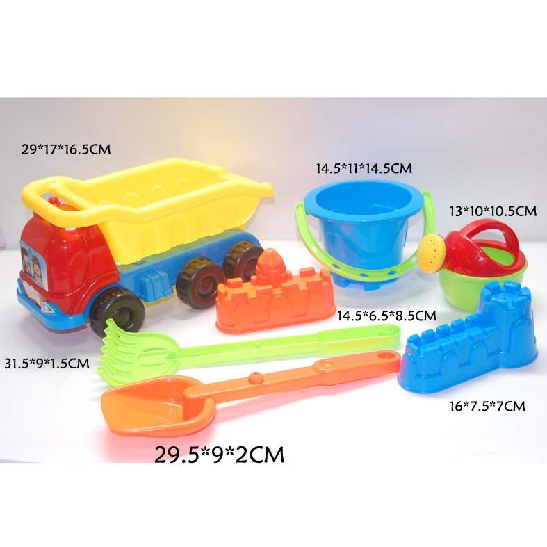儿童运动休闲系列 沙滩玩具 沙滩车 沙滩工具 城堡沙模