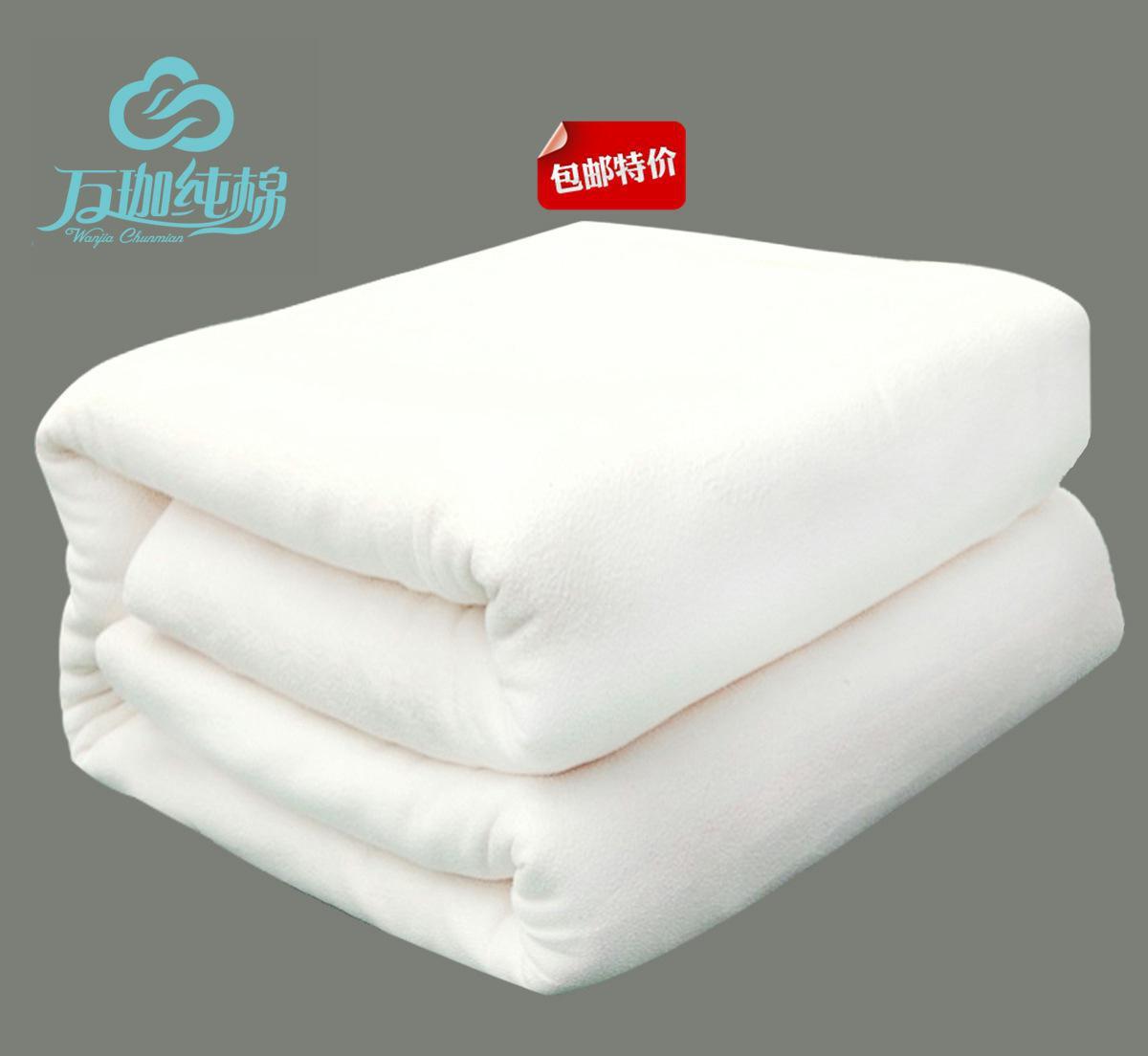 纯棉家纺长绒棉新疆棉絮棉被冬季正品厂家直销6斤有网棉胎