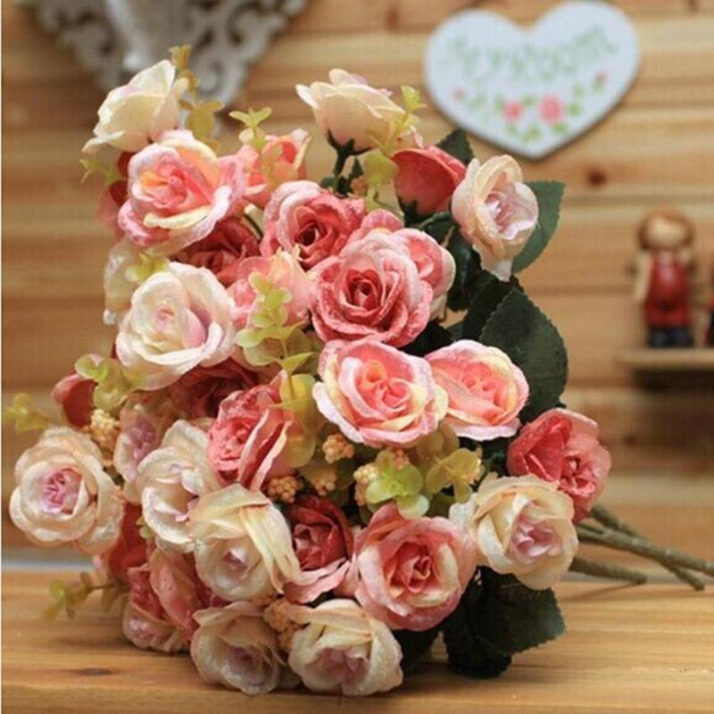 仿真花家居饰品花卉塑料花干花创意结婚仿真花假花居家装饰花