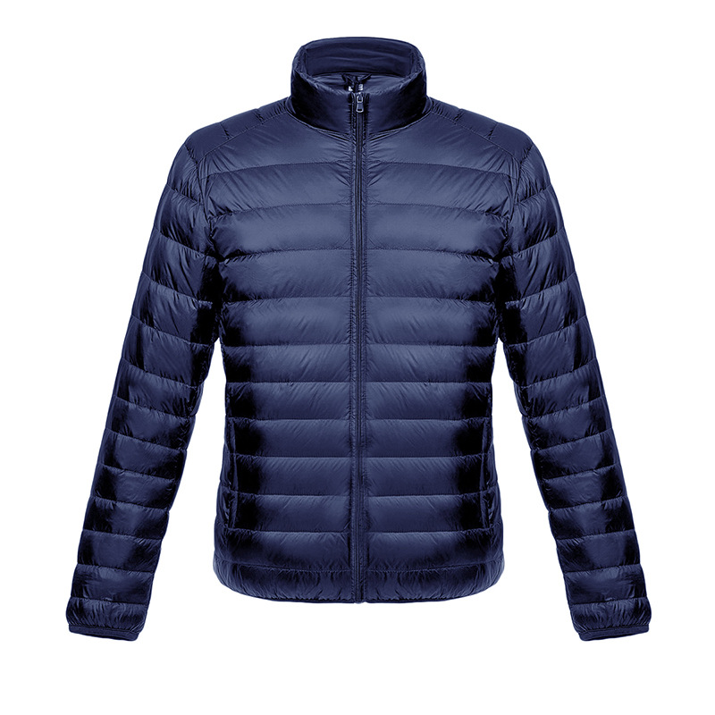 2016新款男士羽绒服 休闲长袖立领轻薄羽绒服男装外套厂家直销