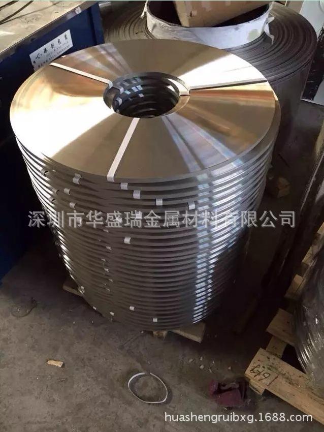 供应进口精密301弹簧钢带 非标不锈钢发条料 (HV580°-HV600°)