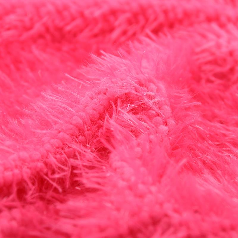玉米绒 秋冬服装绒布纯色长毛绒 玩具服装家纺绒布面料厂家供应