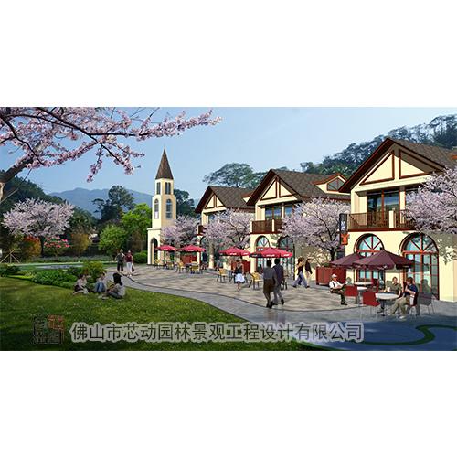 休息山庄景观,景观设计工程,广州休息山庄