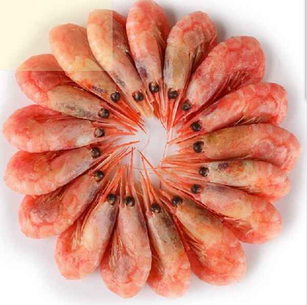 北极甜虾好吃么