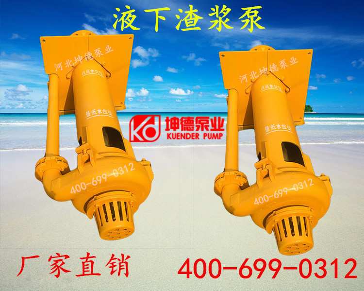 渣浆泵 立式渣浆泵 液下抽沙泵 耐磨砂浆泵 65QV-SP水泵