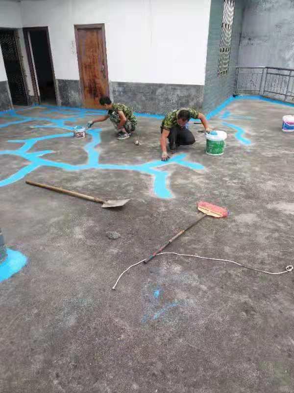 找郴州防水堵漏就来国仁防水——蓝山楼房清洗