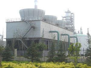 顺捷环保设备专业供应无填料喷雾冷却塔_无填料喷雾冷却塔制造厂家