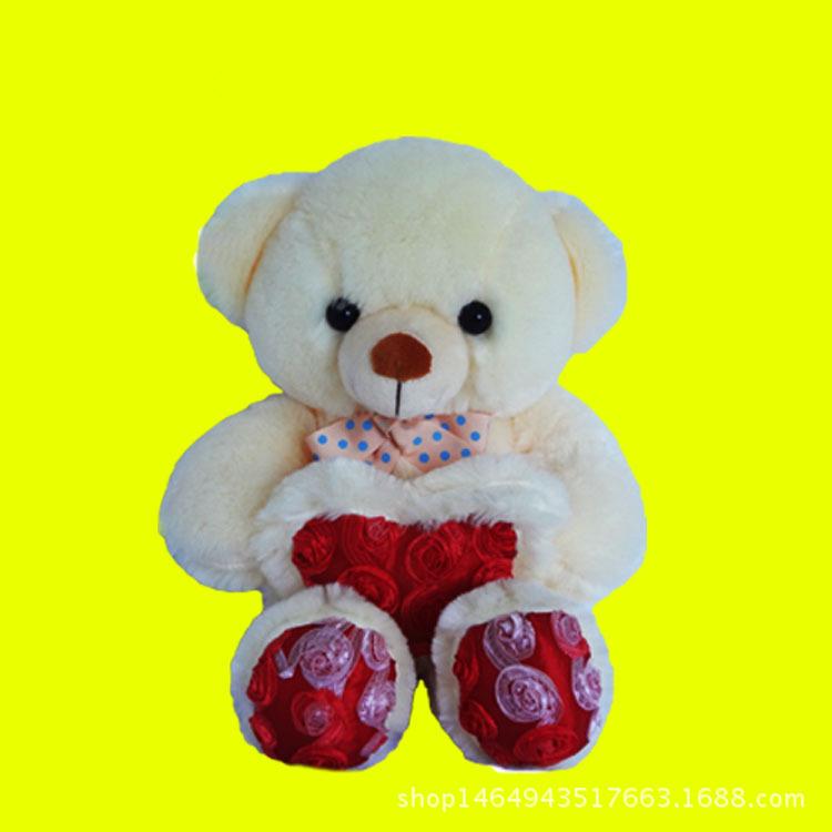 抱心熊毛绒公仔 毛绒玩具 可爱小熊玩具 生日礼物