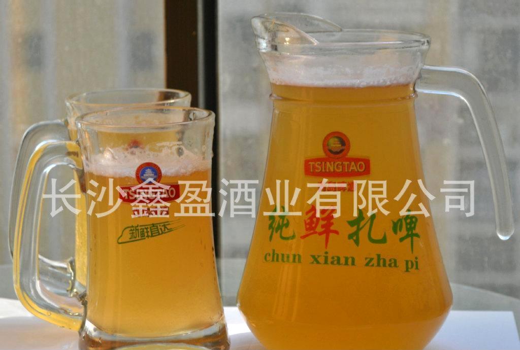 长沙青岛鲜啤销售 青岛啤酒纯鲜扎啤 长沙桶装扎啤 啤酒批发销售