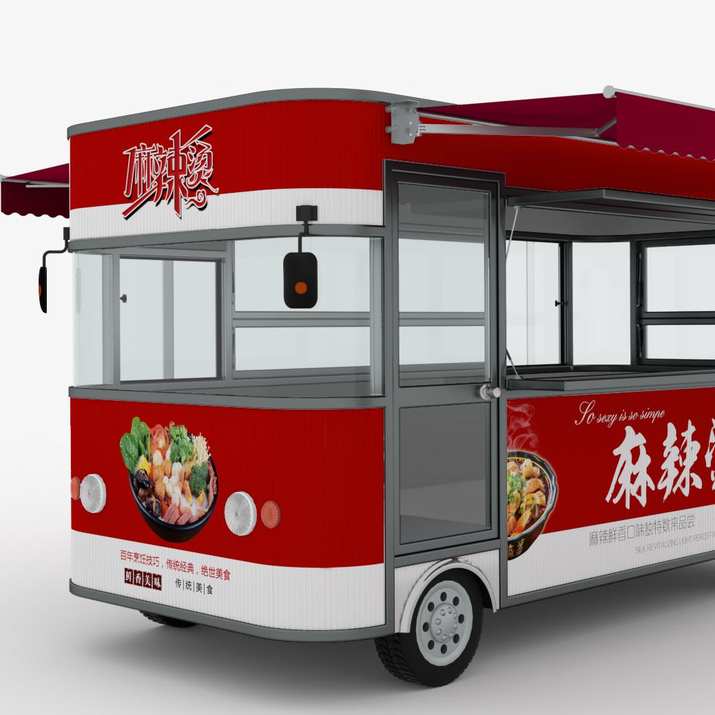 河南雅美可街景店车定制各种餐车