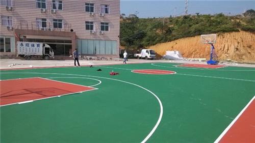 永旺体育丙烯酸球场地面(图)|茂名塑胶球场地面|球场地面