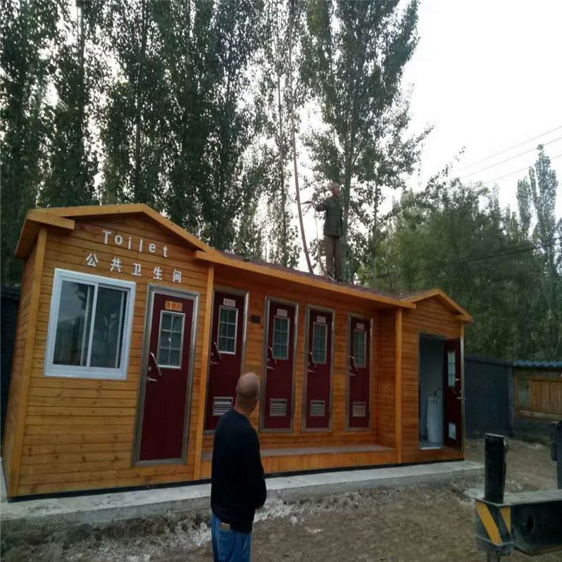 定制防腐木厕所环保生态厕所户外厕所移动厕所旅游景区厕所