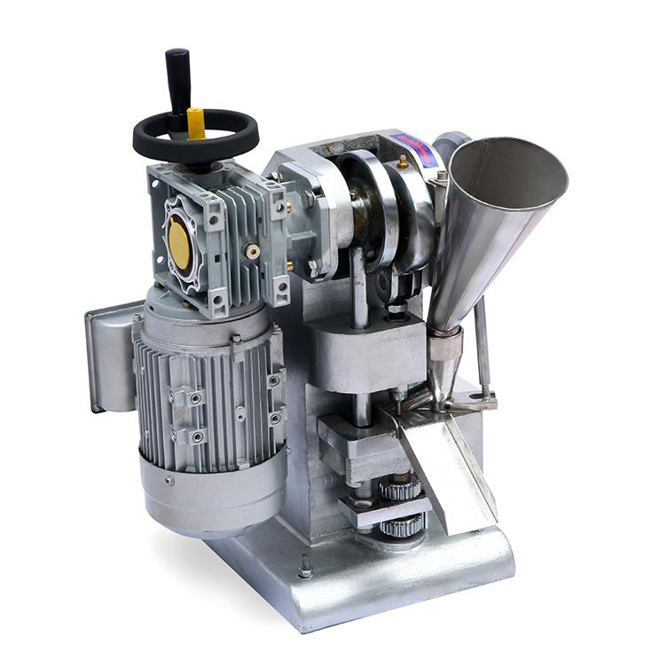 旭朗涡轮式单冲压片机对压片物料的要求及机器适用范围