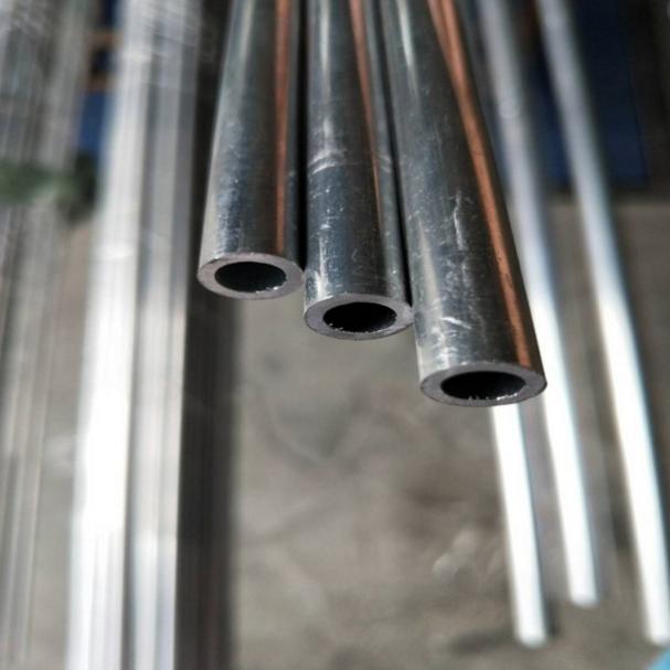 供应 6061铝管薄壁空心铝管厚壁6063铝合金管子无缝铝管型材6mm8mm10mm