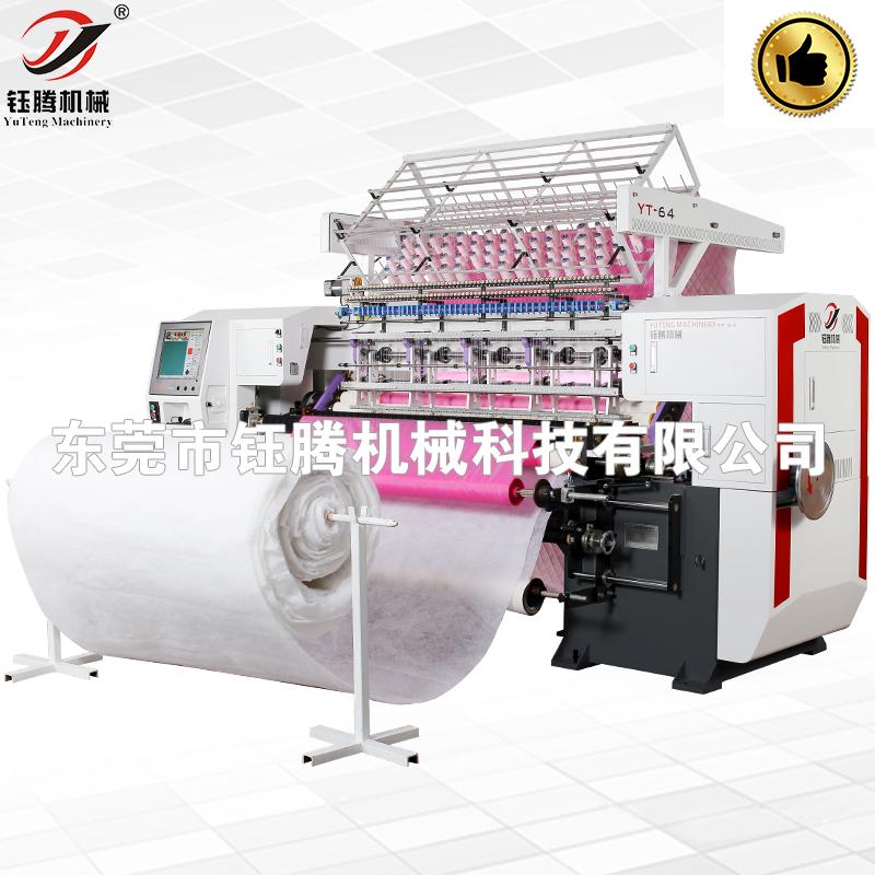 电脑有梭多针绗缝机 全自动绗缝机 高速电脑绗缝机 羽绒服绗缝机