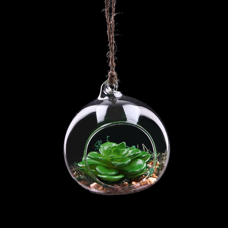 浦江 furnishing artificial plants 仿真玻璃绿植8cm