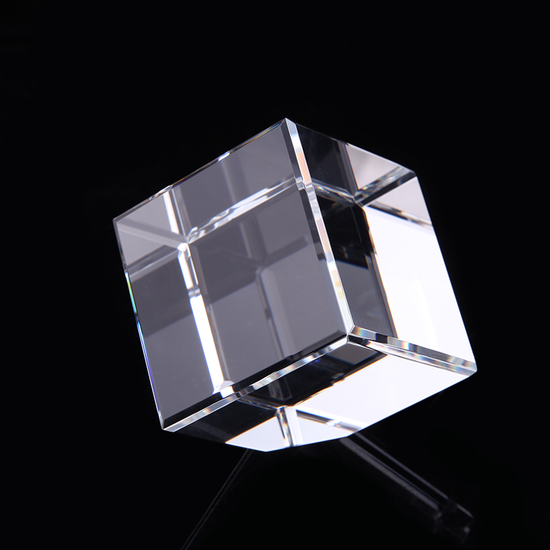 供应 浦江厂家供应  厂家定制 供应方体水晶透明  定制款