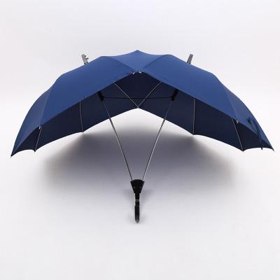 情侣双人伞双顶双杆连体日韩时尚个性雨伞批发