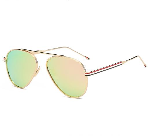 供应 新款金属偏光太阳眼镜 经典炫彩大框蛤蟆镜时尚墨镜