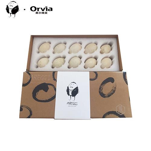 蛋先生丶Mreggi 法国蛋源 奥尔维亚新鲜曾祖代鸭蛋10枚1盒
