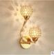 欧式水晶壁灯客厅背景墙壁灯卧室床头灯中山灯具批发led灯具批发