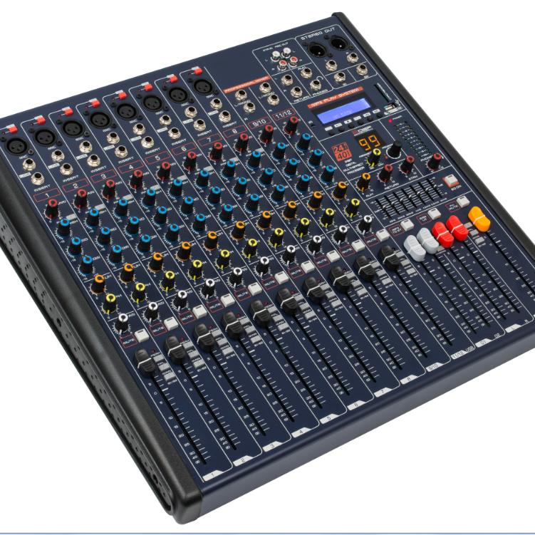 MKX系列带效果 均衡 蓝牙12路调音台