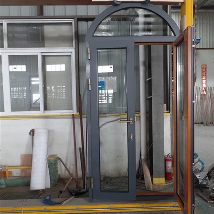 弧形异形铝包木门窗泰州市贝科利尔个性化定制生产