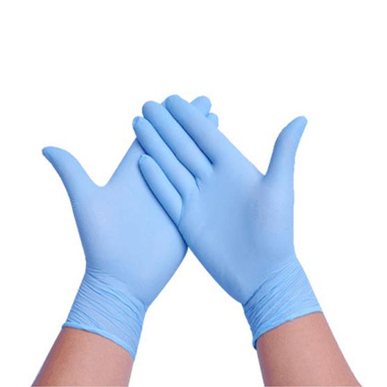一次性丁腈手套无粉白色丁晴手套防静电手套无尘手套厂家直销批发