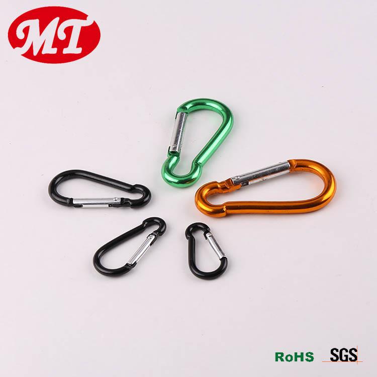 迈腾供应7号D形铝合金登山扣线径加粗现货供应多种颜色可选