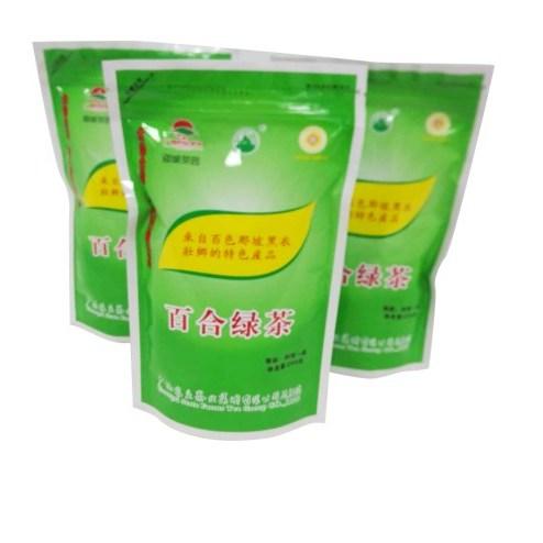 廣西那坡茶園 特級百合綠茶 袋裝250克