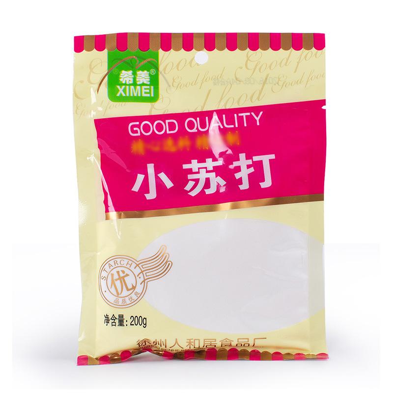 小苏打 小苏打粉 食用烘焙饼干蛋糕面包苏打粉清洁用原装200g