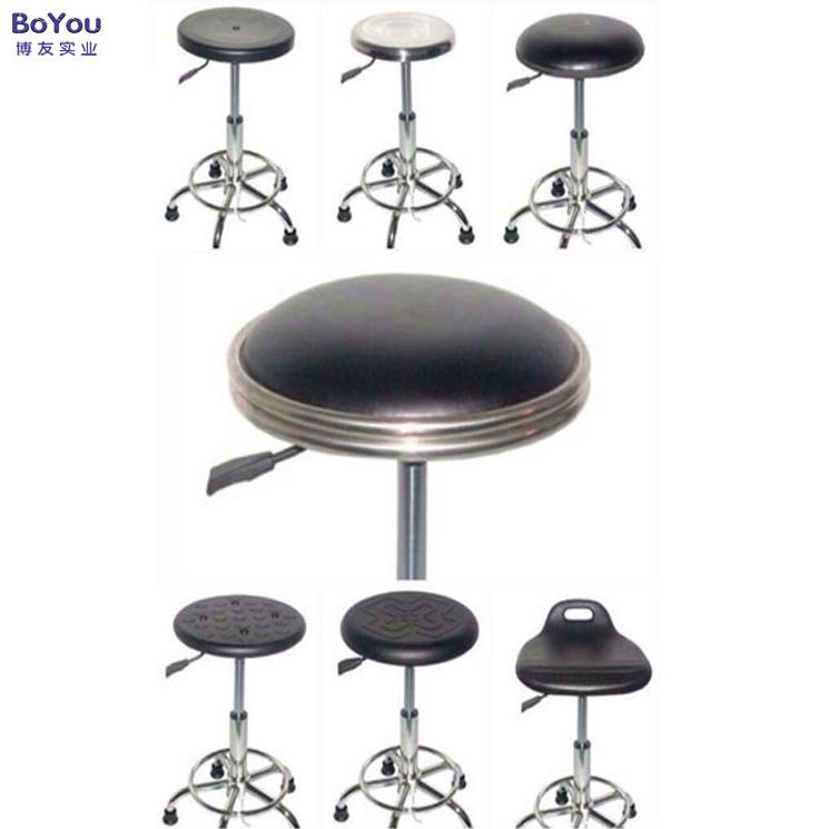 防静电凳子不锈钢圆凳车间椅子防静电升降凳结实耐用厂家生产定制