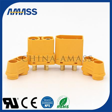 艾迈斯直销40A插头 40A插头接插件 锂电池连接器