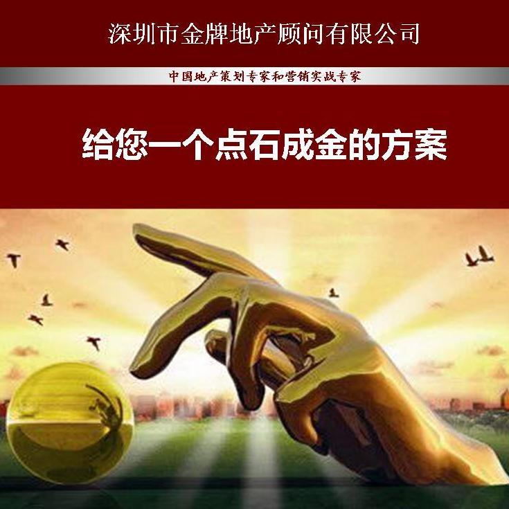 深圳房地产前期拿地开发策划专家金牌地产顾问咨询公司